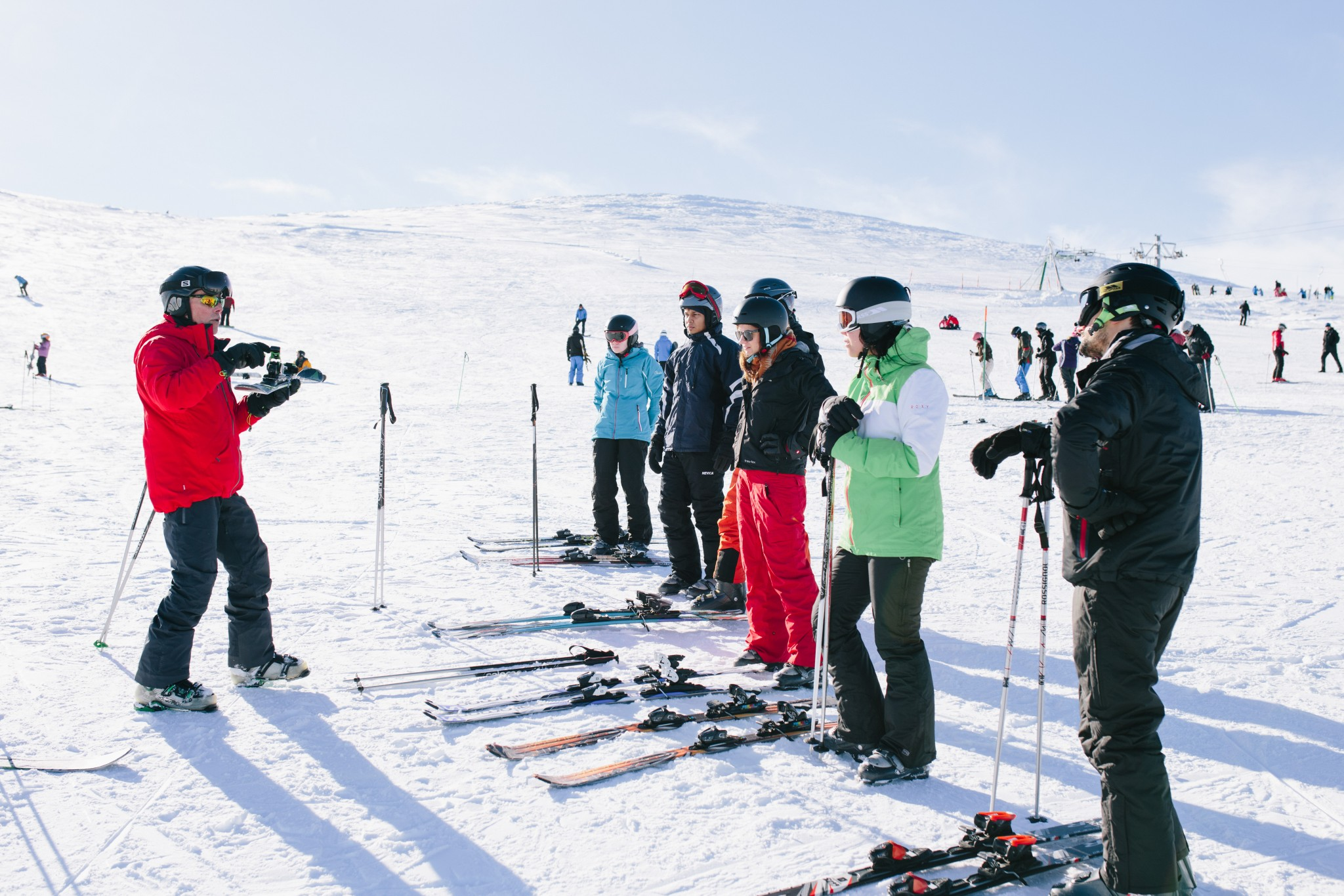 Skiiing and Snowboarding at Cairngorm Mountain