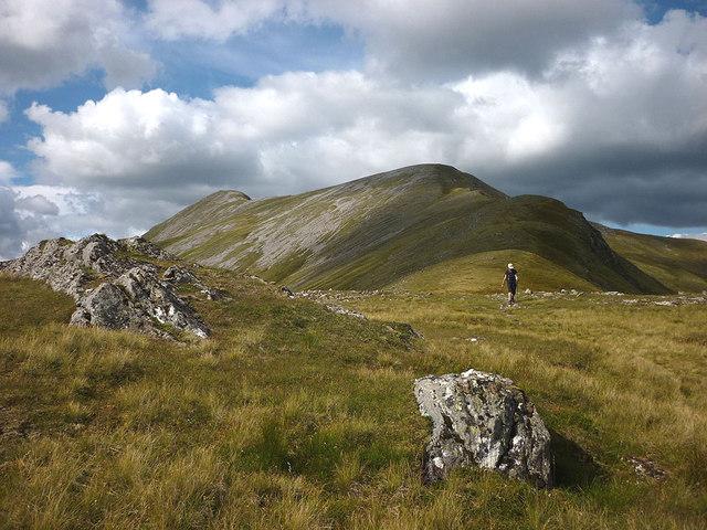 a-chralaig mountain scotland