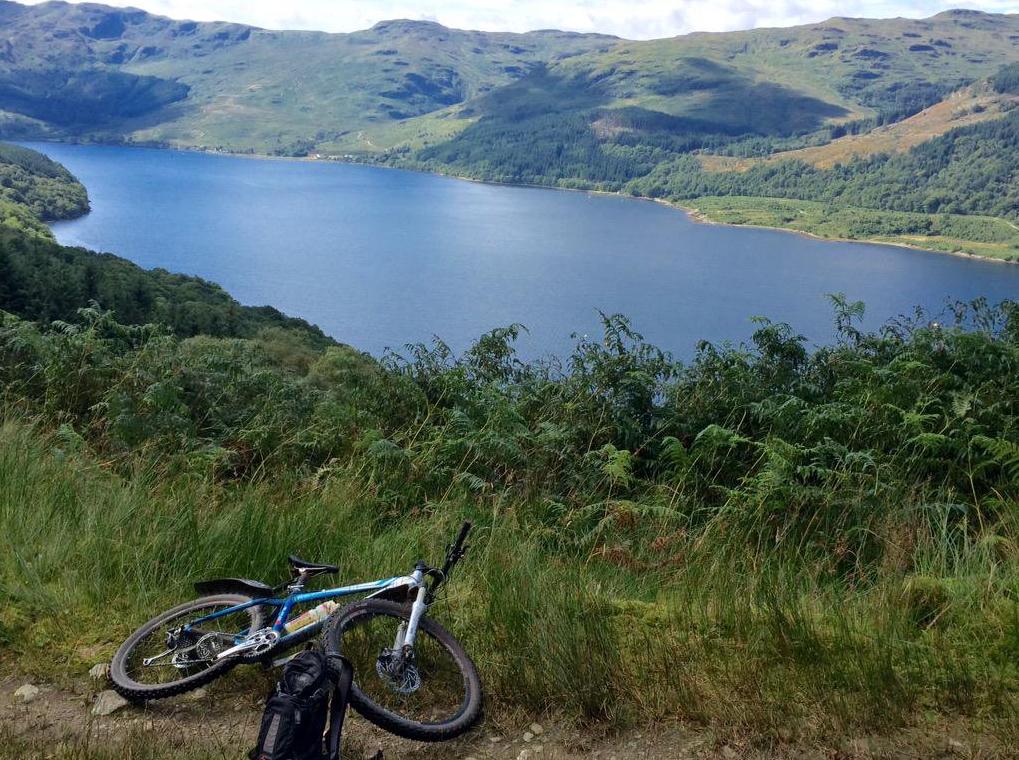 ardgartan mountain biking