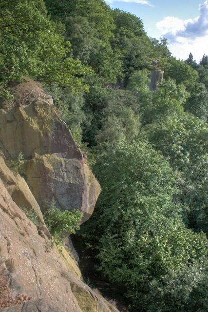 beacon-scar climbing north yorkshire