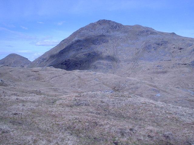 beinn-ime mountain scotland