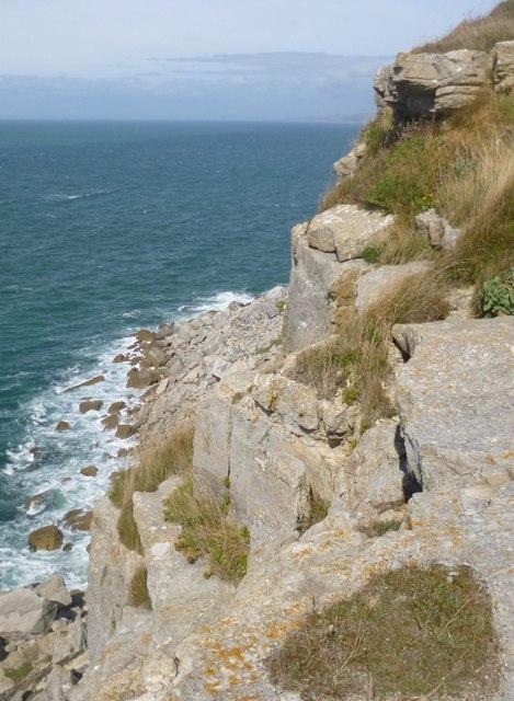 blacknor-south climbing dorset