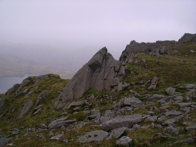 blea-crag climbing cumbria