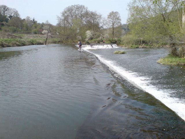 claverton-weir wild swimming somerset
