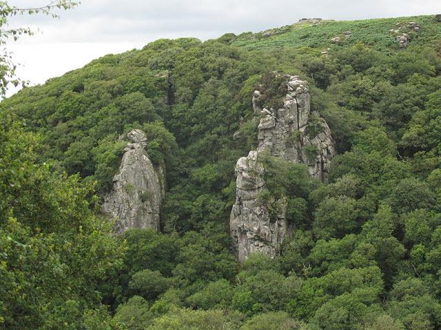 dewerstone climbing devon