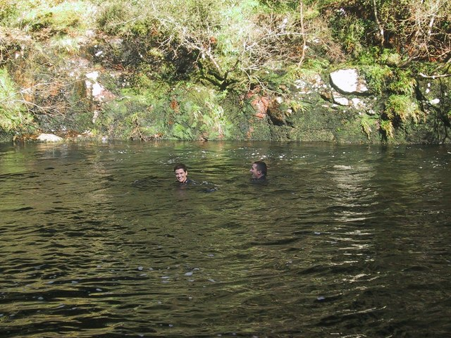 sharrah-pool wild swimming devon