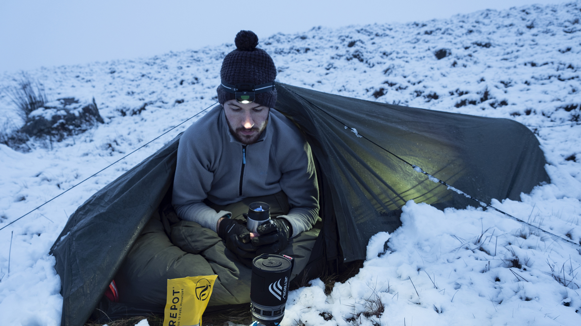 Wild Camping in the Brecon Beacons Searching for Snow - Thryve