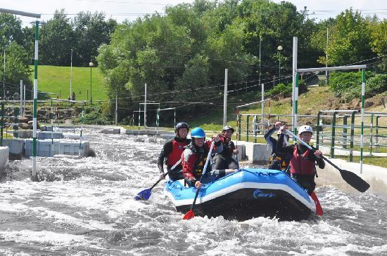Tees Barrage White Water Rafting Centre